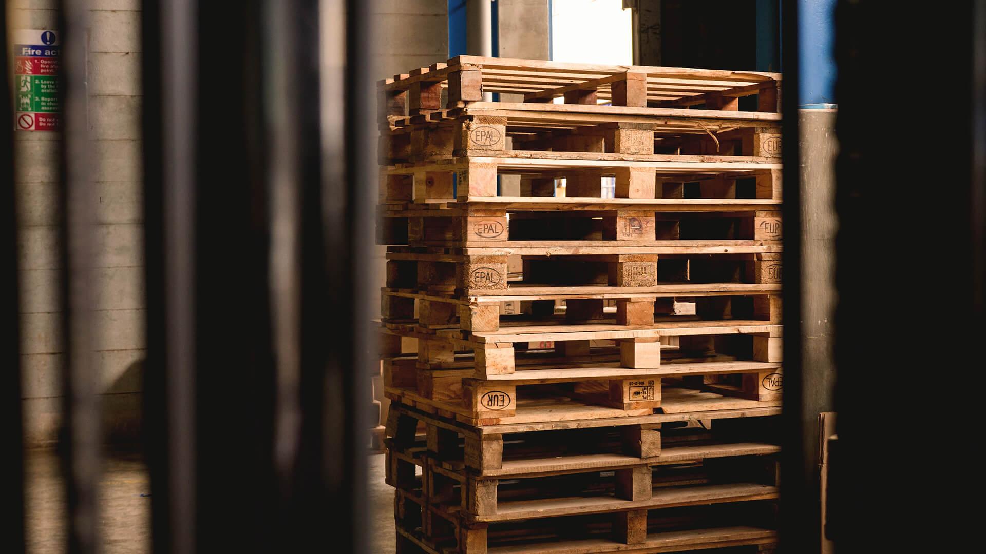 Pallet storage services