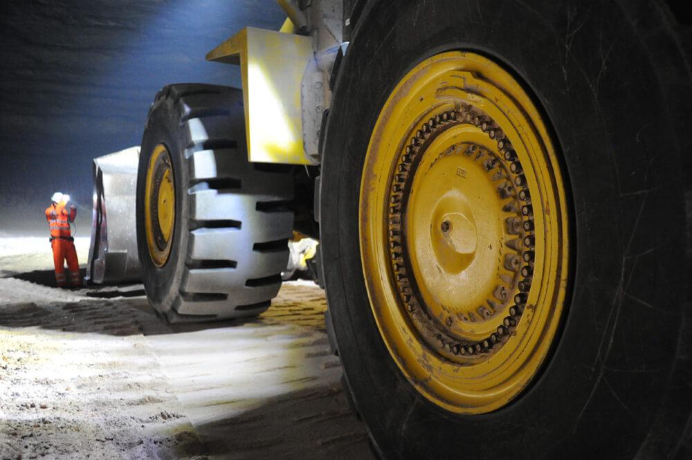 machinery underground