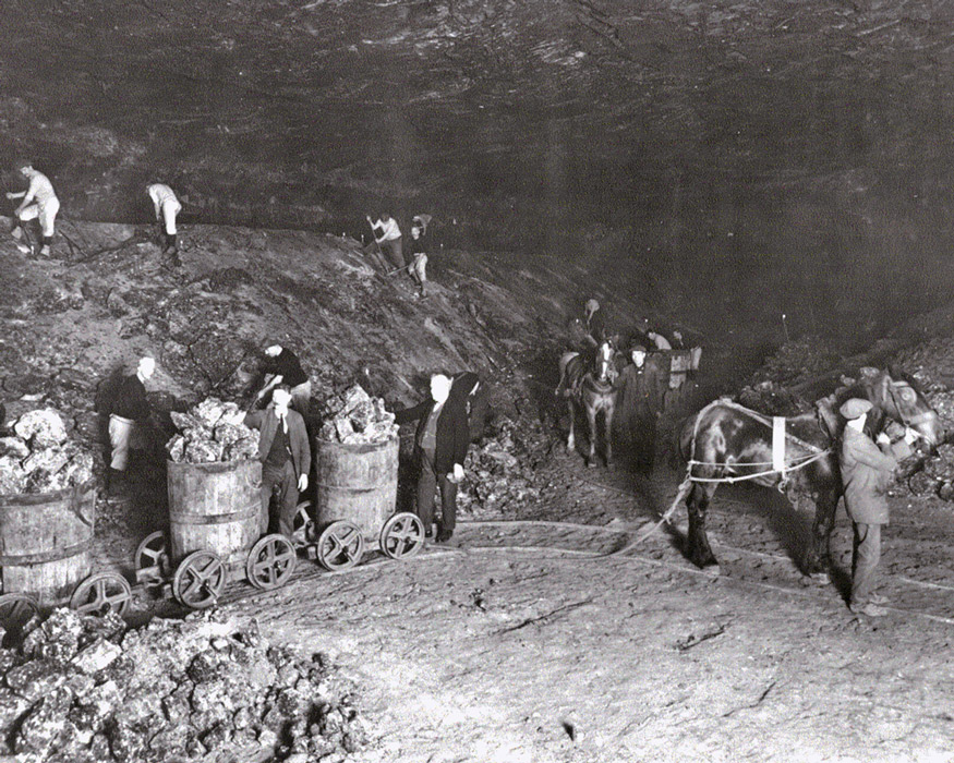 history of the mine
